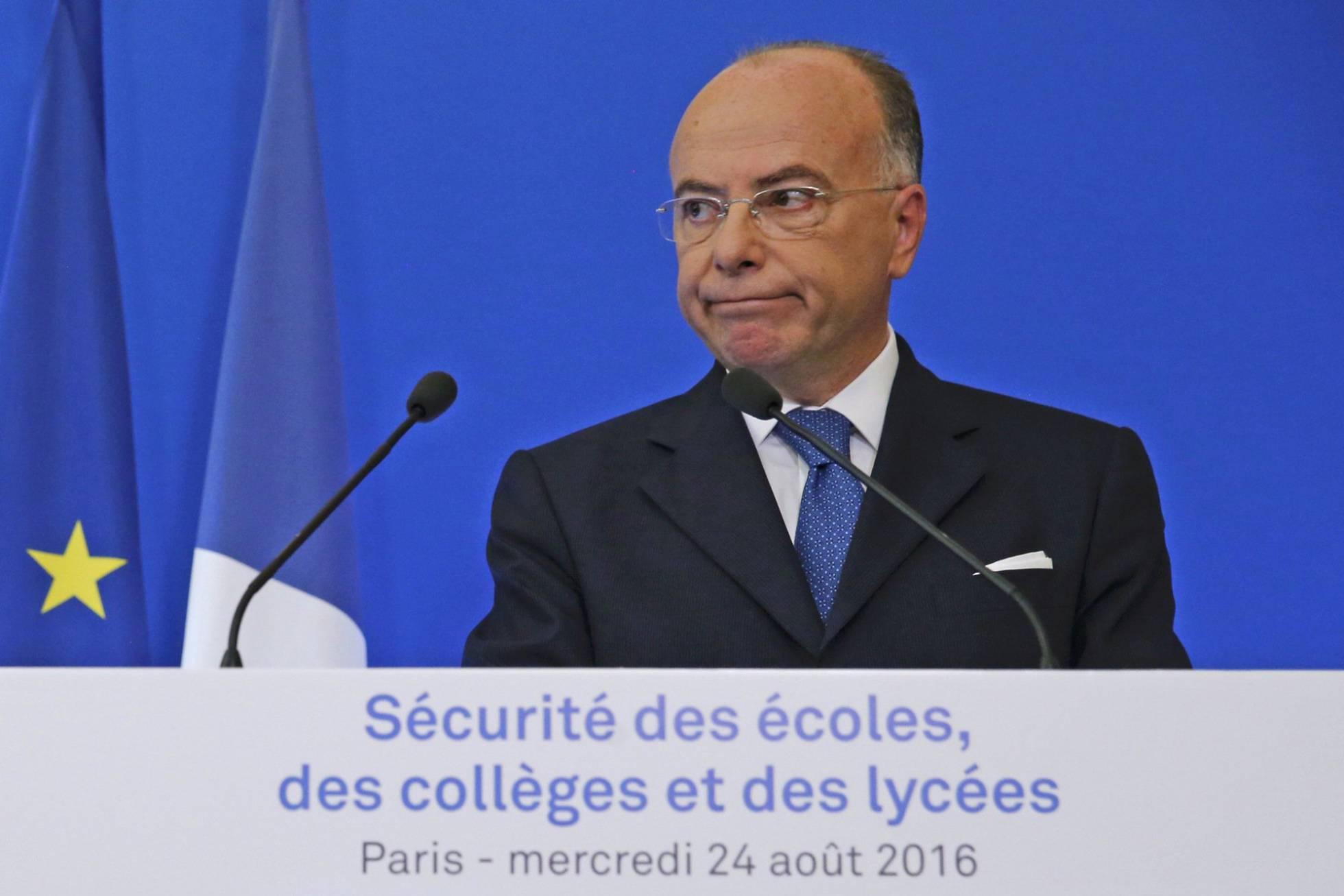 ministro del interior francés