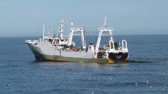 Detienen buque que llevaba 320 toneladas de pescado de zona exclusiva argentina