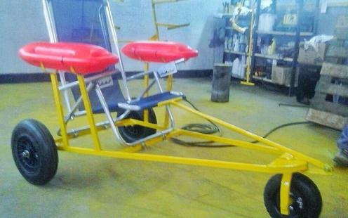 Internos fabrican sillas de ruedas anfibias para que for Sillas de ruedas usadas