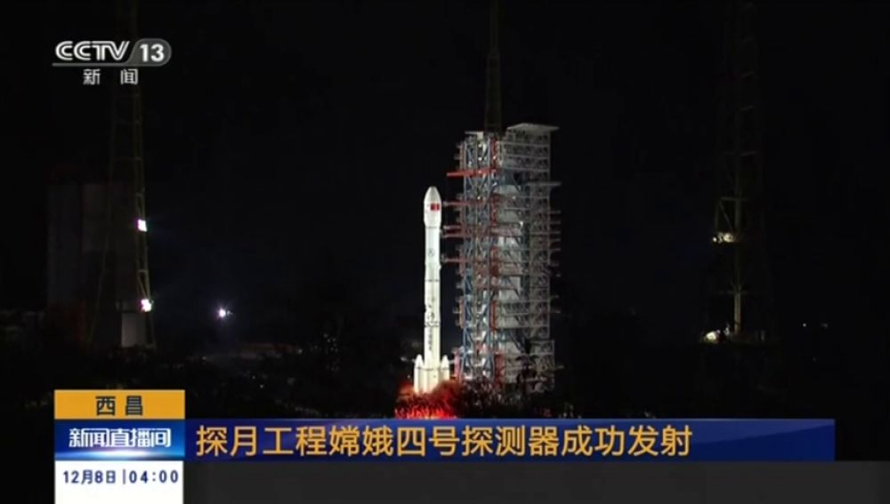 China lanza sonda lunar Chang'e-4-Espanol