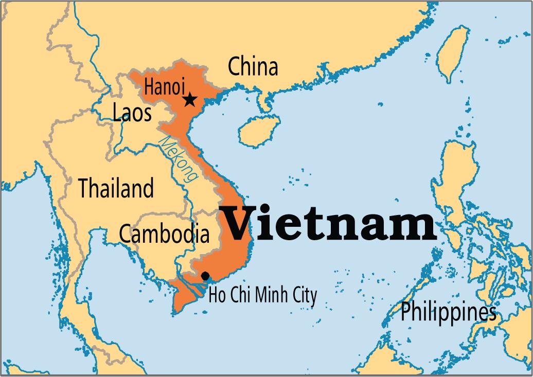 Guerra De Vietnam Mapa.Una Mirada A La Economia De Un Pais Estancado Por La Guerra